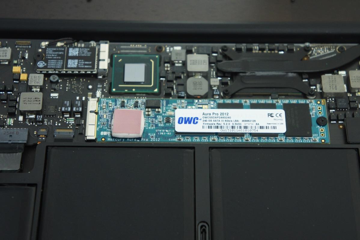 SSD交換完了