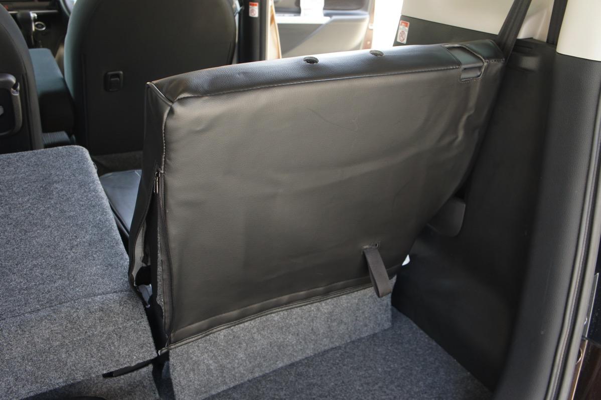後部座席シートカバー
