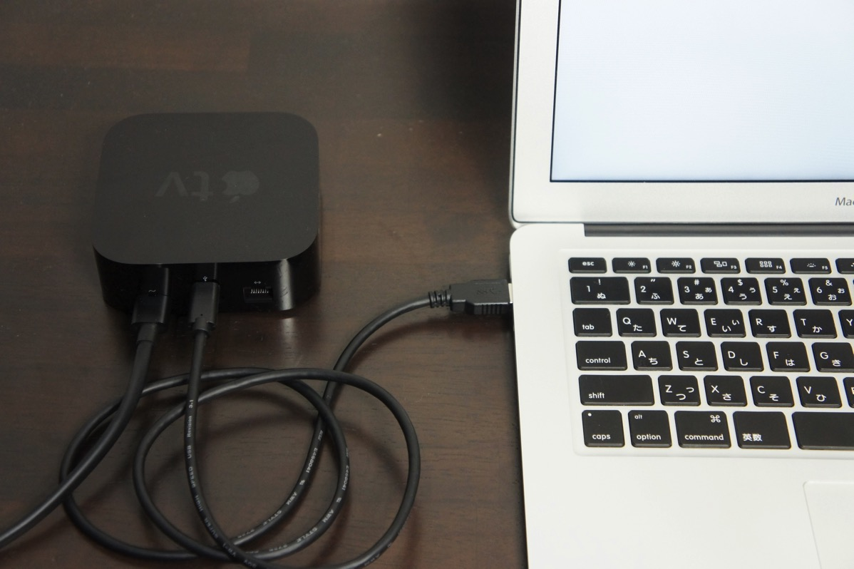macとAppleTV接続
