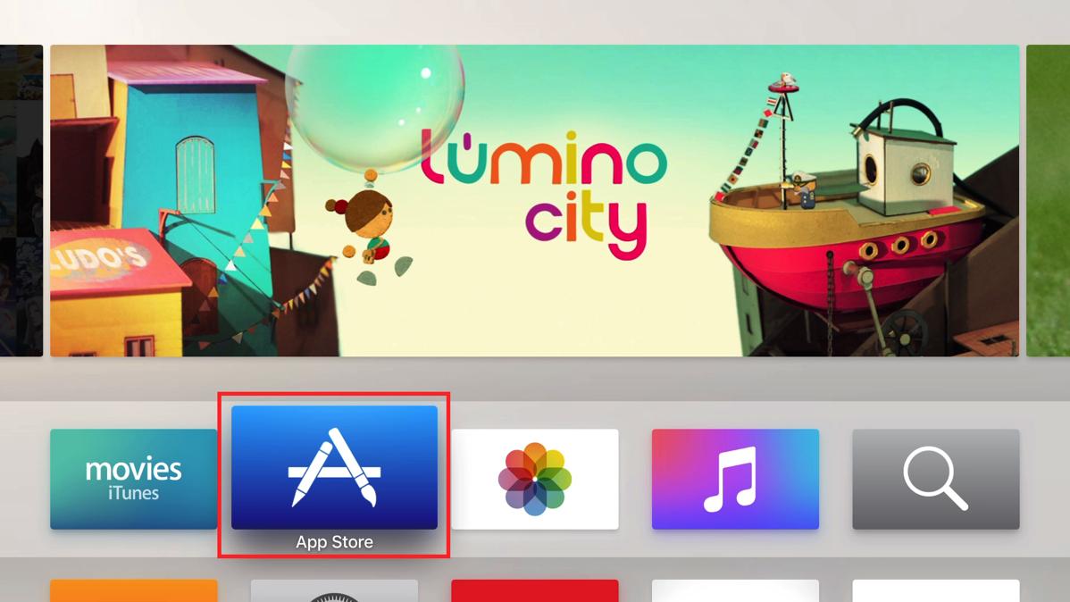 App Storeを選択